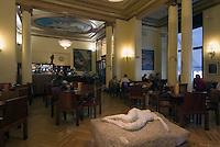 Spanien, Cafe im Circulo de Bellas Artes in Madrid Calle Alcala 42