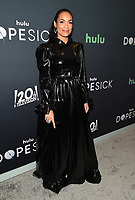 """NEW YORK CITY - OCTOBER 4: Rosario Dawson attends the red carpet premiere of Hulu's """"DOPESICK"""" at the Museum of Modern Art on October 4, 2021 in New York City. . (Photo by Frank Micelotta/Hulu/PictureGroup)"""