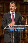 Spanish king, Felipe VI during the Quevedos iberoamerican award of grafic humor 2014. May 26,2016. (ALTERPHOTOS/Rodrigo Jimenez)