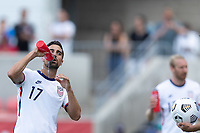 SANDY, UT - JUNE 10: Sebastian Lletget #17 of the United States during a game between Costa Rica and USMNT at Rio Tinto Stadium on June 10, 2021 in Sandy, Utah.
