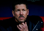 Head coach Diego Simeone of Atletico de Madrid is seen prior to the La Liga 2018-19 match between Atletico de Madrid and Deportivo Alaves at Wanda Metropolitano on December 08 2018 in Madrid, Spain. Photo by Diego Souto / Power Sport Images