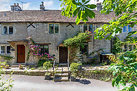 BNPS.co.uk (01202 558833)<br /> Pic: Strutt&Parker/BNPS<br /> <br /> Pictured: Number 2 School Lane. <br /> <br /> An 18th century cottage in 'the prettiest village in England' is on the market for £675,000.<br /> <br /> Number 2 School Lane is Grade II listed, built with beautiful Cotswold stone and filled with character features like exposed timber beams and original fireplaces.<br /> <br /> The attractive three-bedroom property is in the highly sought after Wiltshire village of Castle Combe.<br /> <br /> The quintessentially English village has been used regularly as a film location and the houses are mostly made with honey-coloured Cotswold stone.