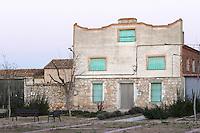 an old house , Valoria la Buena spain castile and leon