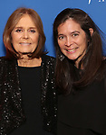 """Gloria Steinem and Diane Paulus attends the Opening Night Performance After Party for """"Gloria: A Life"""" on October 18, 2018 at the Gramercy Park Hotel in New York City."""