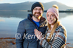 Joe McGuire and Nicole Farrelly from Fenit celebrating their engagement in Fenit on Sunday.