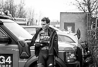 Silvan Dillier (SUI/BMC Racing Team) dissapointed after finishing 2nd in the 1st Dwars door West-Vlaanderen 2017 (1.1)