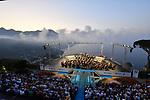 Sul Belvedere di Villa Rufolo, <br /> Concerto all'Alba <br /> Orchestra Filarmonica Salernitana 'Giuseppe Verdi'<br /> Direttore Lorenzo Passerini<br /> <br /> Musiche di Puccini, Stravinskij, Beethoven