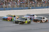 #18: Kyle Busch, Joe Gibbs Racing, Toyota Camry M&M's, #48: Jimmie Johnson, Hendrick Motorsports, Chevrolet Camaro Lowe's for Pros, #95: Regan Smith, Leavine Family Racing, Chevrolet Camaro Procore, #47: A.J. Allmendinger, JTG Daugherty Racing, Chevrolet Camaro Kroger ClickList