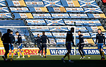 Kilmarnock v St Johnstone…30.01.21   Rugby Park   SPFL<br />The St Johnstone players warm up before kick off<br />Picture by Graeme Hart.<br />Copyright Perthshire Picture Agency<br />Tel: 01738 623350  Mobile: 07990 594431