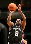 Justin Dentmon, of the Austin Toros, competes in the 3-point competition in the NBA D-League Showcase at the Reno Events Center, in Reno, Nev., on Wednesday Jan. 9, 2013..Photo by Cathleen Allison