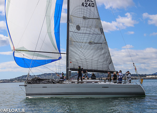 Patrick Burke's Prima Forte was the DBSC Dun Laoghaire Harbour Trophy winner