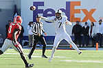 December 30, 2016: TCU quarterback Kenny Hill (7) in the forth quarter of the AutoZone Liberty Bowl at Liberty Bowl Memorial Stadium in Memphis, Tennessee. ©Justin Manning/Eclipse Sportswire/Cal Sport Media