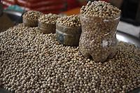 Pimenta do reino vendida nas feiras de Belém.
