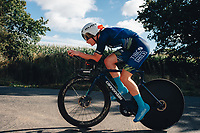 6th October 2021 Womens Cycling Tour, Stage 3. Individual Time Trial; Atherstone to Atherstone. Abi Smith.