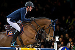 Olivier Philippaerts of Belgium riding Zandigo in action during the Laiterie De Montaigu Trophy as part of the Longines Hong Kong Masters on 14 February 2015, at the Asia World Expo, outskirts Hong Kong, China. Photo by Victor Fraile / Power Sport Images