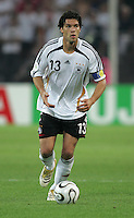 Michael Ballack.  Italy defeated Germany, 2-0, in overtime in their FIFA World Cup semifinal match at FIFA World Cup Stadium in Dortmund, Germany, July 4, 2006.