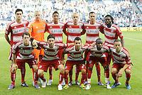 FC Dallas starting XI... Sporting Kansas City defeated FC Dallas 2-1 at LIVESTRONG Sporting Park, Kansas City, Kansas.