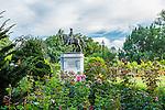 The George Washington statue in the Public Garden, Boston, Massachusetts, USA