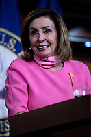 Speaker of the United States House of Representatives Nancy Pelosi (Democrat of California) speaks during her weekly press conference on Capitol Hill in Washington, District of Columbia on Thursday, June 4, 2020. <br /> Credit: Ting Shen / CNP/AdMedia