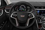Car pictures of steering wheel view of a 2018 Cadillac XTS Luxury 4 Door Sedan