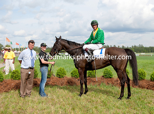 #9. Black Jack Blues, champion of 2011, wins the Carolina Cup early in the year and never races again.