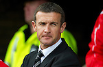 St Johnstone v Dunfermline... 13.08.11   SPL Week 4.Dunfermline manager Jim McIntyre.Picture by Graeme Hart..Copyright Perthshire Picture Agency.Tel: 01738 623350  Mobile: 07990 594431