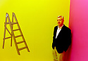 Michael Craig-Martin, Irish born contemporary conceptual artist and painter . Emeritus Professor of Fine Art at Goldsmiths College, 1993  CREDIT Geraint Lewis