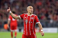 11.04.2018, Football UEFA Champions League 2017/2018, Quarter Finals 2nd leg, FC Bayern Muenchen - FC Sevilla, in Allianzarena Muenchen. Arjen Robben (FC Bayern Muenchen). *** Local Caption *** © pixathlon<br /> <br /> Contact: +49-40-22 63 02 60 , info@pixathlon.de