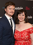 """Steven Boyer and Emily Boyer attends the Broadway Opening Night of """"Tootsie"""" at The Marquis Theatre on April 22, 2019  in New York City."""