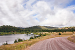 Blanchard Lake, within Harpers Lake Fishing Access one mile north of Clearwater Junction on Montana Highway 83.  Fishing is available on two lakes and the Clearwater River.  Campsites, toilets, and ADA access, not to mention terrific Big Sky scenery.