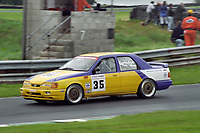 Round 12 of the 1993 British Touring Car Championship. #35 Bob Berridge (GBR). Ford Sierra Sapphire.