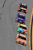 2017 NASCAR Monster Energy Cup Series - Daytona 500<br /> Daytona International Speedway, Daytona Beach, FL USA<br /> Sunday 26 February 2017<br /> Daniel Suarez, ARRIS Toyota Camry, Kyle Busch, M&M's Toyota Camry, Denny Hamlin, FedEx Express Toyota Camry and Martin Truex Jr, Bass Pro Shops/TRACKER BOATS Toyota Camry<br /> World Copyright: Nigel Kinrade/LAT Images<br /> <br /> ref: Digital Image 17DAY2nk14641