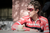 Koen de Kort (NED/Trek-Segafredo)<br /> <br /> pre-race coffee ride (relaxed training day before the race)<br /> 108th Milano - Sanremo 2017