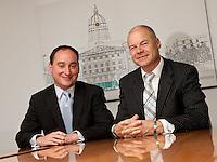 Adam Youatt (left) and Andy Matthews of Gateley in Nottingham