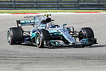 Valtteri Bottas (77) of Finland in action during the final practice before the Formula 1 United States Grand Prix race at the Circuit of the Americas race track in Austin,Texas.