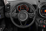 Car pictures of steering wheel view of a 2020 MINI Countryman Cooper-Signature 5 Door Hatchback Steering Wheel