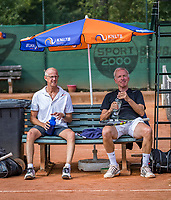 Etten-Leur, The Netherlands, August 26, 2017,  TC Etten, NVK, Martin Koek (NED) vs Max de Graaff (NED) (R)<br /> Photo: Tennisimages/Henk Koster