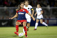 Boyds, MD - Saturday May 07, 2016: Washington Spirit midfielder Estefania Banini (10) during a regular season National Women's Soccer League (NWSL) match at Maureen Hendricks Field, Maryland SoccerPlex. Washington Spirit tied the Portland Thorns 0-0.
