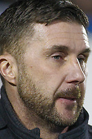 Bury manager Chris Lucketti  during the The Checkatrade Trophy match between Bury and Fleetwood Town at Gigg Lane, Bury, England on 9 January 2018. Photo by Juel Miah/PRiME Media Images.