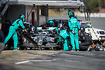 takes part in the tests for the new Formula One Grand Prix season at the Circuit de Catalunya in Montmelo, Barcelona. February 19, 2020 (ALTERPHOTOS/Javier Martínez de la Puente)
