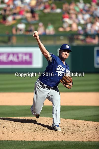 Matt West - Los Angeles Dodgers 2016 spring training (Bill Mitchell)