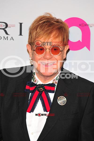 NEW YOKR, NY - NOVEMBER 7: Elton John at The Elton John AIDS Foundation's Annual Fall Gala at the Cathedral of St. John the Divine on November 7, 2017 in New York City. Credit:John Palmer/MediaPunch /NortePhoto.com
