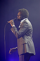 Montreal (Qc) CANADA - February 13, 2008 -<br /> <br /> Corneille (A quebec singer born in Rwanda) interpret various songs from his first album in english : The Birth of Cornelius.