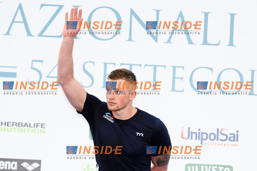 Adam Peaty GBR Men's 50m Breaststroke <br /> Roma 24-06-2017 Stadio del Nuoto Foro Italico <br /> FIN 54mo Trofeo Sette Colli 2017 Internazionali d'Italia<br /> Photo Andrea Staccioli/Deepbluemedia/Insidefoto