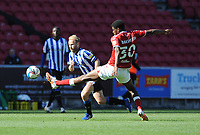 Sheffield Wednesday's Barry Bannan gets past Bristol City's Tyreeq Bakinson<br /> <br /> Photographer Ian Cook/CameraSport<br /> <br /> The EFL Sky Bet Championship - Bristol City v Sheffield Wednesday - Sunday 27th September, 2020 - Ashton Gate - Bristol<br /> <br /> World Copyright © 2020 CameraSport. All rights reserved. 43 Linden Ave. Countesthorpe. Leicester. England. LE8 5PG - Tel: +44 (0) 116 277 4147 - admin@camerasport.com - www.camerasport.com