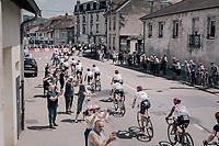 TdF peloton passing through the town<br /> <br /> 104th Tour de France 2017<br /> Stage 4 - Mondorf-les-Bains › Vittel (203km)