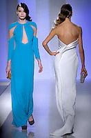 Italian fashion designer Fausto Sarli featured at Rome Fashion Week,Fashion show. Presentation of S/S 2013.Italian Haute Couture collection, January 26, 2013