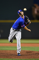 St. Lucie Mets pitcher Jake Kuebler (31) delivers a pitch during a game against the Bradenton Marauders on April 11, 2015 at McKechnie Field in Bradenton, Florida.  St. Lucie defeated Bradenton 3-2.  (Mike Janes/Four Seam Images)