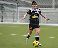 Annelies Van Loock (9) of Eendracht Aalst pictured during a female soccer game between Oud Heverlee Leuven and Eendracht Aalst on the second matchday of the 2021 - 2022 season of Belgian Womens Super League , sunday 29 nd of August 2021  in Heverlee , Belgium . PHOTO SPORTPIX.BE   JILL DELSAUX