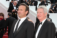 VINCENT PEREZ AND REGIS WARGNIER - RED CARPET OF THE FILM 'LOVING' AT THE 69TH FESTIVAL OF CANNES 2016